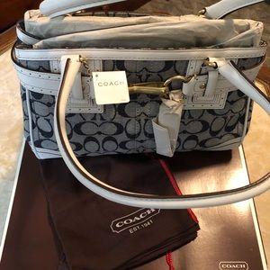 Coach Bags - Coach Hampton Signature Bag 10507